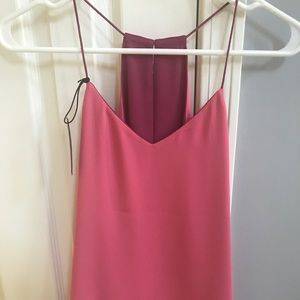 NWT Express Reversible Pink Top XS
